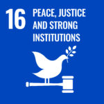 16. peace, justice and strong instituations
